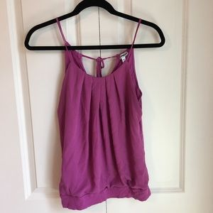 Purple Express tank top size small